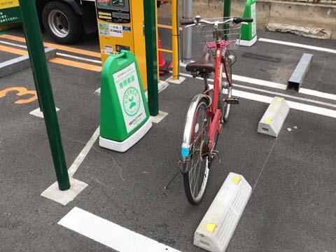 カレコ:自転車が置ける